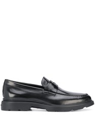 Hogan Polished Finish Loafers 60