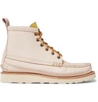 Yuketen Maine Guide Waxed Leather Boots Neutrals
