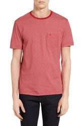 Original Penguin Men's Feeder Stripe Pocket T Shirt