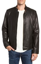 Ugg Orlando Leather Racer Coat Black