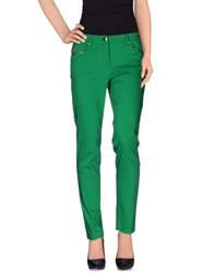 Angelo Marani Trousers Casual Trousers Women Green