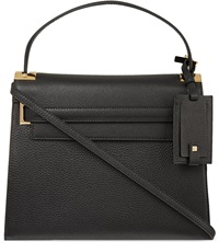 Valentino My Rockstud Grained Leather Satchel Black