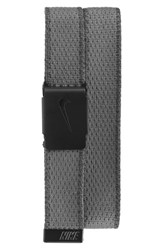 Men's Nike Knit Web Belt Dark Grey