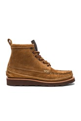 Yuketen Maine Guide 6 Eye Db Boots Cognac