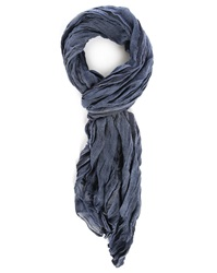 Ikks Blue Striped Scarf