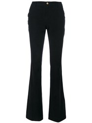 Pt01 Slim Fit Pants Cotton Spandex Elastane Black