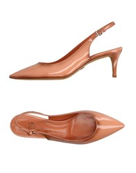 Eva Turner Pumps Apricot