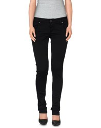 Shaft Trousers Casual Trousers Women Black