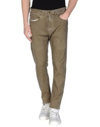 Superfine Denim Pants Khaki