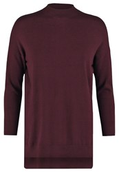 Mbym Fala Jumper Burgundy Bordeaux