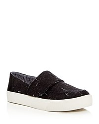 Toms Altair Dotted Wool Sneakers Black