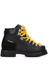 Proenza Schouler Hiking Boots Black