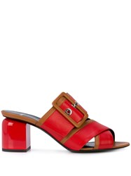 Pierre Hardy Gae Mules Red