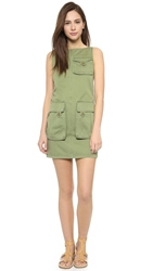 Marc By Marc Jacobs Classic Cotton Dress Moore Green