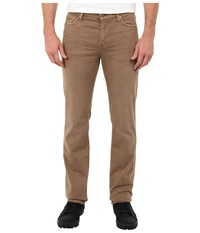 7 For All Mankind Luxe Performance Slimmy Slim Straight In Twill Colors Sand Men's Casual Pants Beige
