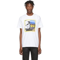 Byredo White Craig Mcdean Edition Model T Shirt