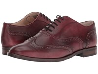 Massimo Matteo Oxford Wing Tip Bordo Women's Lace Up Wing Tip Shoes Burgundy