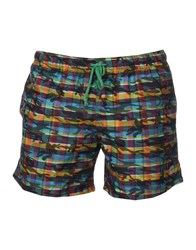 Primo Emporio Swim Trunks Dark Green
