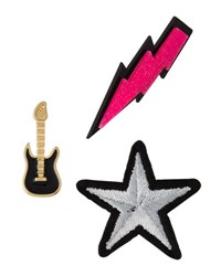 Lydell Nyc Rock Star Pin Set Multi