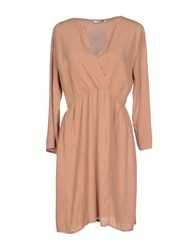 Nina Dresses Short Dresses Women Camel