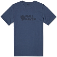 Fjall Raven Fjallraven Logo Tee Uncle Blue