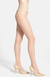 Women's Commando 'The Sexy Sheer' Tights Medium Nude