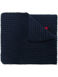 Tommy Hilfiger Flag Knitted Scarf Blue
