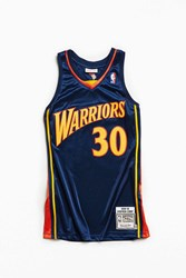 Mitchell And Ness Stephen Curry Basketball Jersey Navy