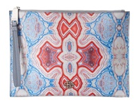 Rafe New York Alexa Zip Pouch Agate Blue Handbags