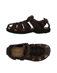 Lumberjack Sandals Dark Brown