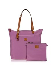 Bric's X Bag Large 3 In One Tote Bag Violet