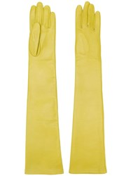 N 21 No21 Arm Length Gloves Yellow