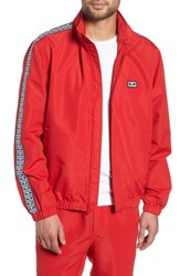 Obey Eyes Lightweight Jacket Hot Red
