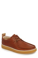 Ecco Crepetray Moc Toe Lace Up Lion Leather