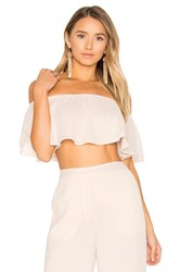 House Of Harlow X Revolve Bree Crop Top Pink