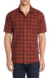 Patagonia Men's 'Back Step' Regular Fit Check Short Sleeve Sport Shirt