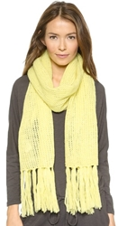 Dkny Scarf With Fringe Parrot