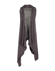 Manila Grace Denim Knitwear Cardigans Women Dove Grey