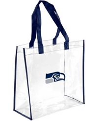 Forever Collectibles Seattle Seahawks Clear Tote Bag