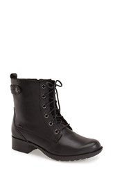 Women's Cobb Hill 'Carrie' Waterproof Boot Black Leather