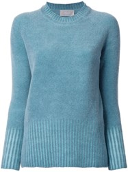 Drumohr Round Neck Jumper Green