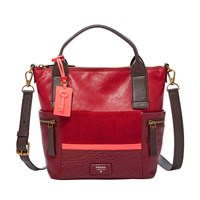Fossil Zb6959995 Emerson Satchel Bag Red