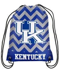 Forever Collectibles Kentucky Wildcats Chevron Drawstring Backpack