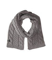 The North Face Cable Minna Scarf Metallic Silver Scarves