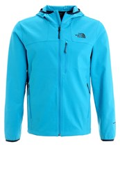 The North Face Nimble Soft Shell Jacket Hyper Blue Turquoise