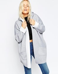 Kubban Gray Fleece Lined Jacket Gray
