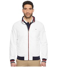 Tommy Jeans Casual Bomber Jacket Classic White Coat Beige