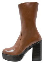 Jeannot High Heeled Boots Sierra Cognac