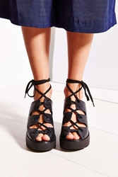 Tba To Be Announced Dax Lace Up Sandal Black