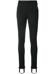 Moncler Skinny Stirrup Trousers Black